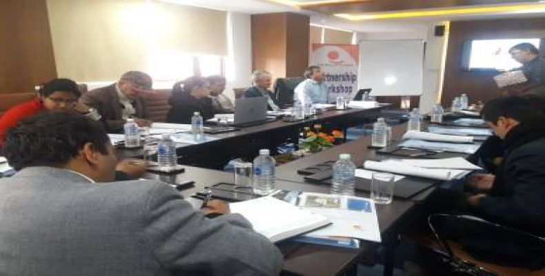 Two day partnership workshop